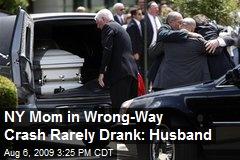 NY Mom in Wrong-Way Crash Rarely Drank: Husband