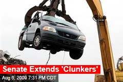Senate Extends 'Clunkers'