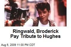 Ringwald, Broderick Pay Tribute to Hughes