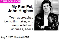 My Pen Pal, John Hughes