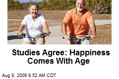 Studies Agree: Happiness Comes With Age