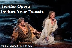 Twitter Opera Invites Your Tweets