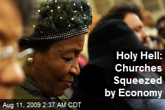 Holy Hell: Churches Squeezed by Economy