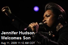 Jennifer Hudson Welcomes Son