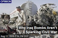 Why Iraq Bombs Aren't Sparking Civil War