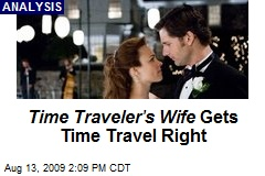 Time Traveler's Wife Gets Time Travel Right