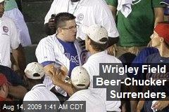 Wrigley Field Beer-Chucker Surrenders