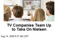 TV Companies Team Up to Take On Nielsen