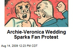 Archie-Veronica Wedding Sparks Fan Protest