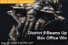 District 9 Beams Up Box Office Win