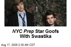 NYC Prep Star Goofs With Swastika