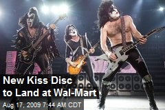 New Kiss Disc to Land at Wal-Mart