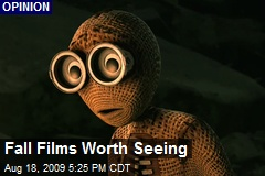 Fall Films Worth Seeing