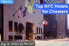 Top NYC Hotels for Cheaters