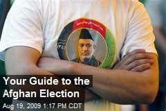 Your Guide to the Afghan Election