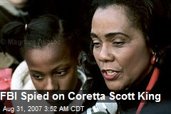 FBI Spied on Coretta Scott King
