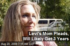 Levi's Mom Pleads, Will Likely Get 3 Years