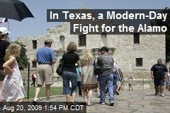 In Texas, a Modern-Day Fight for the Alamo