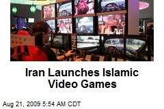 Iran Launches Islamic Video Games