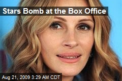 Stars Bomb at the Box Office