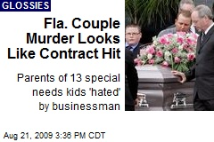 Fla. Couple Murder Looks Like Contract Hit