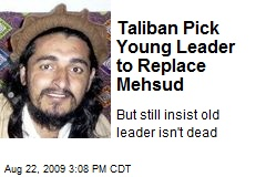 Taliban Pick Young Leader to Replace Mehsud