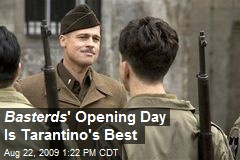 Basterds ' Opening Day Is Tarantino's Best