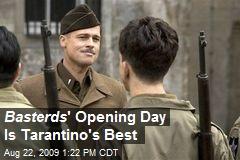 Basterds ' Opening Day Is Tarantino's Best