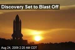 Discovery Set to Blast Off