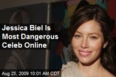 Jessica Biel Is Most Dangerous Celeb Online
