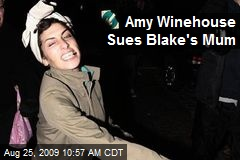 Amy Winehouse Sues Blake's Mum