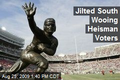 Jilted South Wooing Heisman Voters