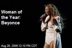 Woman of the Year: Beyonce