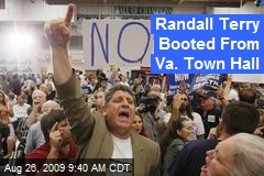 Randall Terry Booted From Va. Town Hall