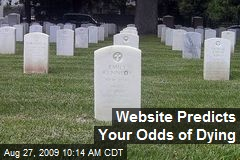 Website Predicts Your Odds of Dying