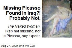 Missing Picasso Found in Iraq?! Probably Not.