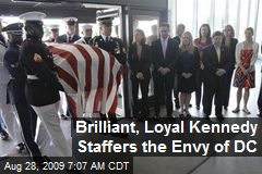 Brilliant, Loyal Kennedy Staffers the Envy of DC