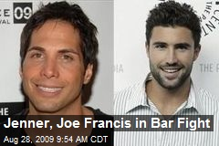 Jenner, Joe Francis in Bar Fight