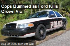 Cops Bummed as Ford Kills Crown Vic