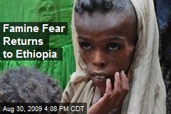 Famine Fear Returns to Ethiopia