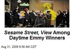 Sesame Street , View Among Daytime Emmy Winners