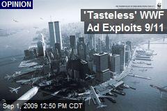 'Tasteless' WWF Ad Exploits 9/11