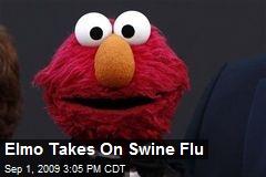 Elmo Takes On Swine Flu