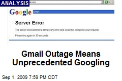 Gmail Outage Means Unprecedented Googling