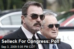 Selleck For Congress: Poll