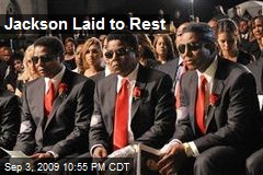 Jackson Laid to Rest