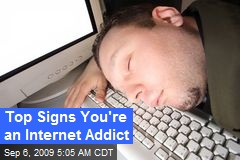 Top Signs You're an Internet Addict
