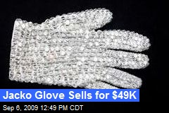 Jacko Glove Sells for $49K