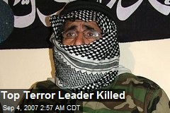 Top Terror Leader Killed