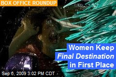 Women Keep Final Destination in First Place